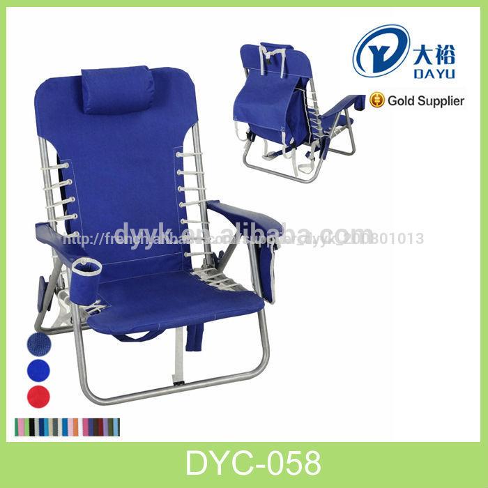 Chaise pliante de plage sac dos en toile de haute qualit ou en polyester c - Chaise pliante en toile ...