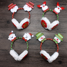 ZH2018winter cute Christmas hair clasp /warm earmuffs in lovely shape for christmas