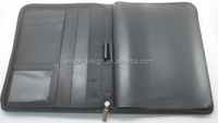 cheapest black zipper leather tablet cases