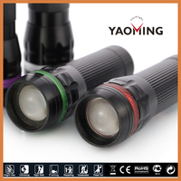 Zoomable 150 Lumens Mini LED Flashlight Micro Bright Waterproof Flashlights Portable Miniature Torch for Camping Bike Emergency
