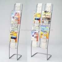Japanese High Quality Ready to Assemble Furniture Display Brochure Rack at The Dollar Store