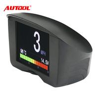 AUTOOL X50 Plus Car Smart Digital Meter&Alarm Fault Code Water TEMP Guage Digital Voltage Speed Meter obd ii diagonostic tool