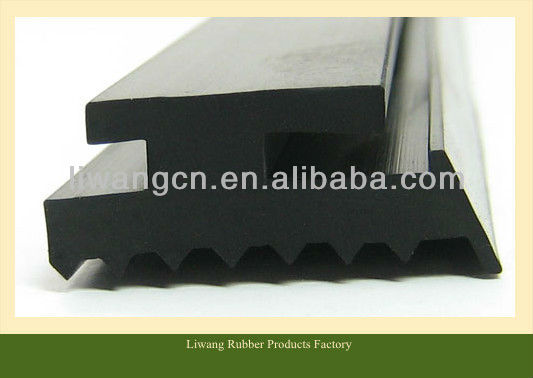 auto glass natural rubber seal strip