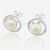 latest gold earing design moon earrings fashion pear ear stud