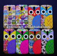 Cool owl hard case cover for Samsung Galaxy S4 mini