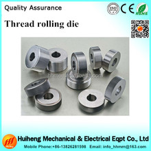 Circular tungsten carbide Thread Rolling Dies for Machine Screw