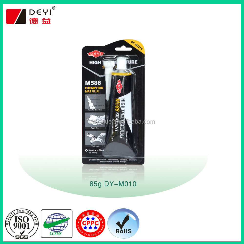 High Temperature Black RTV Silicone Gasket Maker ABRO quality
