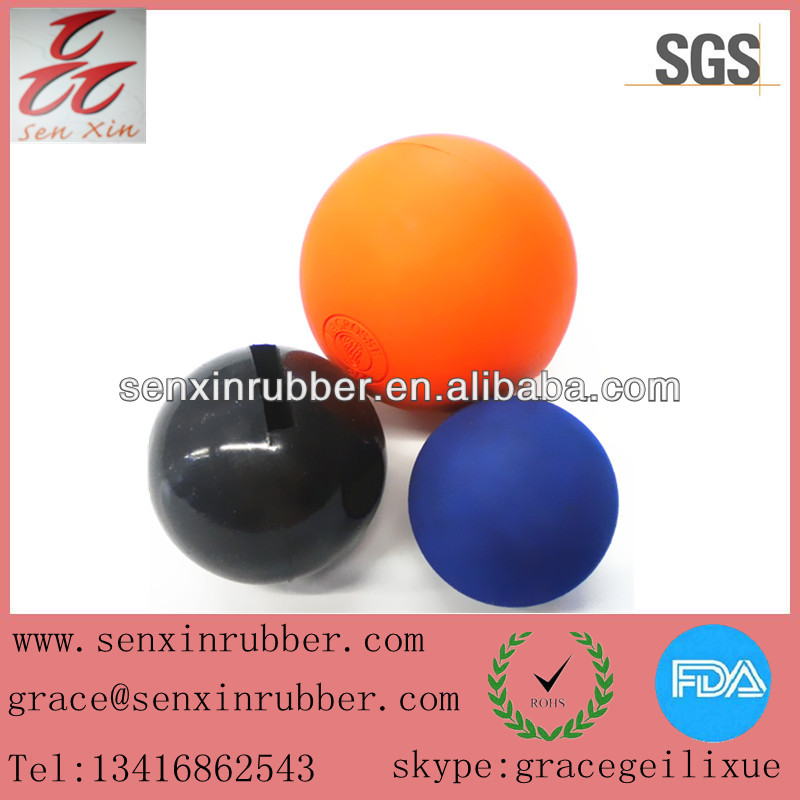China supplier rubber ball for pet / rubber dog ball
