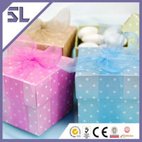 Best Price Customized Romantic Paper Red Wedding Favour Box