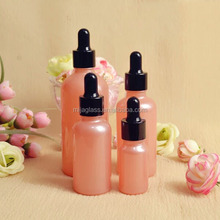 30ml Pink Serum Glass Dropper Bottle/Packaging and 20ml Color Coating Glass Container