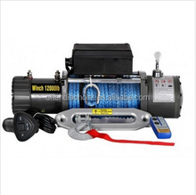 12v 24v Car SUV Electric Winch 8000lb 9500lb 12000lb 20000lb 4x4 off road