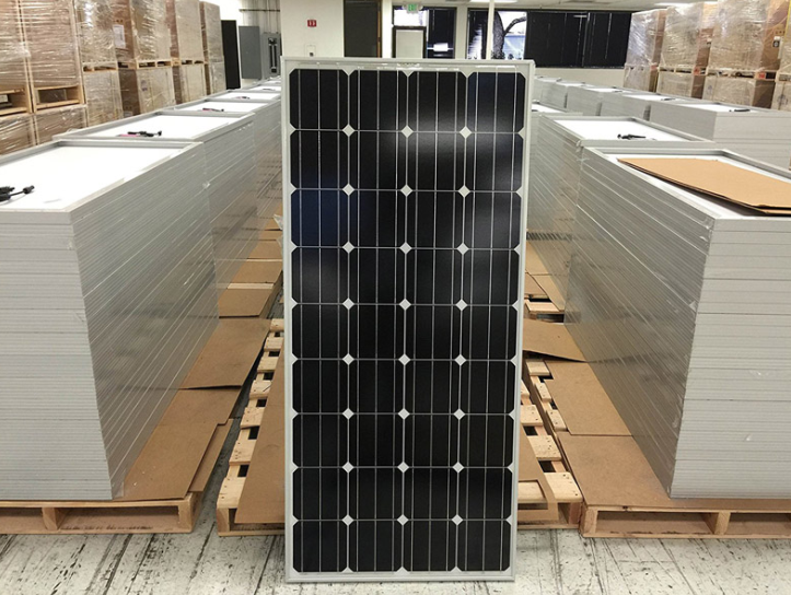 Solar Energy LED Lighting 150W solar modules