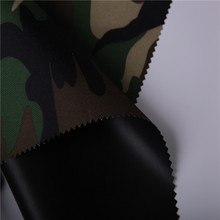 fireproof oil and water resistant camouflage fabric