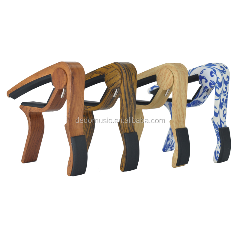 New listing wood Guitar Capo