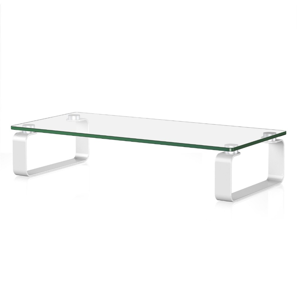 High quality glass display desktop monitor stand