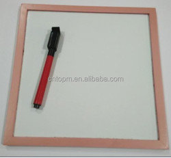 2015 Customized promotional a4 paper size magnetic whiteboard with mark pen from factory of alibabb China