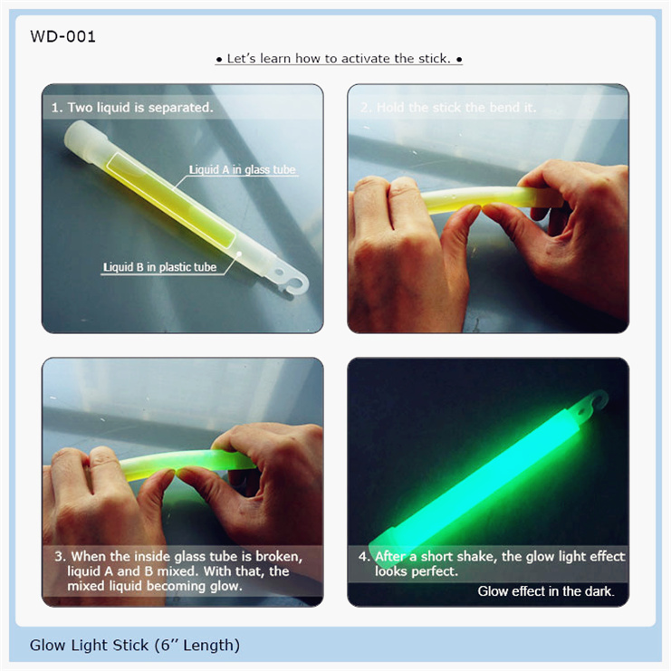led foam stick baton glow products