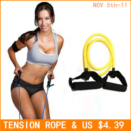 Tension Elastic pilate Exercise Sport Workout fitness Equipment rubber loop Stretch expande Belt Pull Strap Resistance pull rope