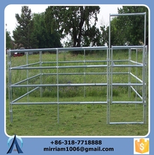 horse fence with pvc and animal wire mesh fence