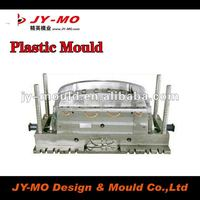 Front bumper chrome mould for different size cars