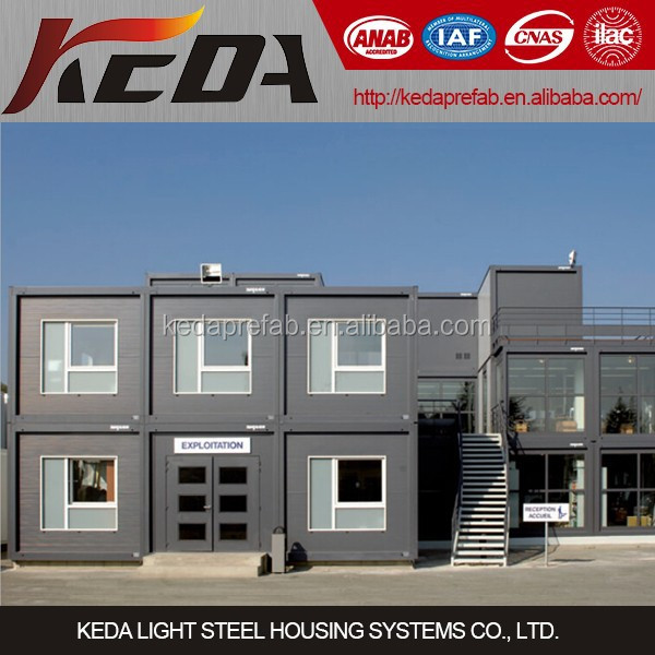 Factory price customized knock down container flat pack container houses