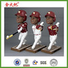 Personalized baseball player bobblehead souvenir