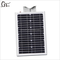 8W GH-SRL008 New products solar power all in one solar street light
