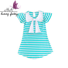 2017 kids garments t shirts manufacturers china girls tops striped baby clothesboutique children short sleeves t shirt
