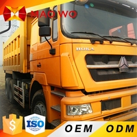 Best Sinotruk Howo supply hard work used all wheel drive 6x6 dump truck for sale