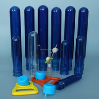 plastic bottle preform blue or transparent pet preform 10g-800g with neck size 8mm-55mm mineral water bottle