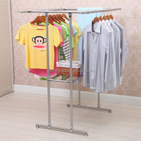 AY-DP18C stainless steel material combination hotel clothes rack