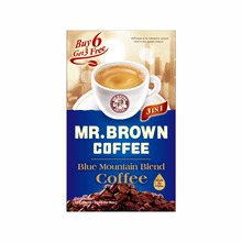 Brown café instantáneo 3 en 1 polvo Blue Mountain