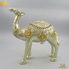 Promotional Items Camel Home Decor Resin Figurines Souvenir Camel Statue Decoration