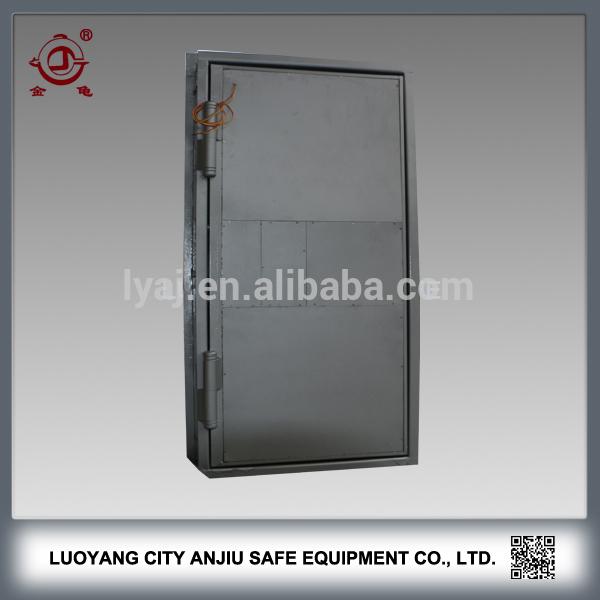 Used Vault Doors : Fingerprint bank used large vault door with lagard lock