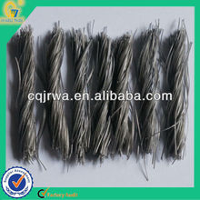 Abrasion Resistant Anti-crack Plastic Twisted Bundle PP Fiber for Concrete Well Cover