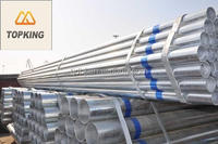TOP KING High Quality Galvanized Steel Pipe Price,Galvanized Steel Pipe Manufacturers China,
