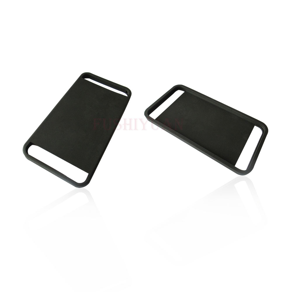 Custom made silicone card holder sticky cell phone pocket
