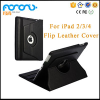 Black Leather Sleeve Case for iPad 2/3/4 9.7 Wholesale