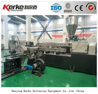 65/150 two stage compounding extrusion line for PVC XLPE pelletizing with factory price