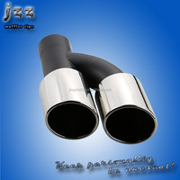 Chinese Dual car tail pipe exhaust silencer Stainless Steel muffler exhaust for audi a4 b8 muffler