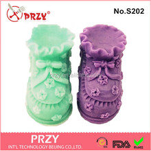 baby shoes 3d silicone soap molds