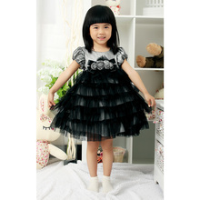 Baby girl puffy tulle party dress children frock designs