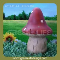 7.7'' colorful large decorative mushrooms
