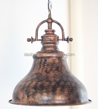 Manufacture copper Metal pendant Lamp, Rustic