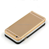2014 New Arrival Curved Aluminum Bumper Case For iPhone 6 With 4.7 Size