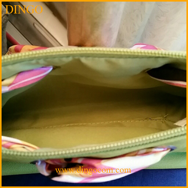 Wholesale cheap new material travel cosmetic bag