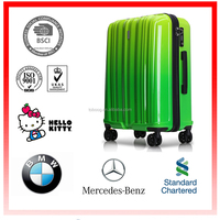 2016 New Arrival ABS+PC China Supplier Luggage trolley,abs Luggage,travel house Luggage with Factory Price Hard case Spinner Hot