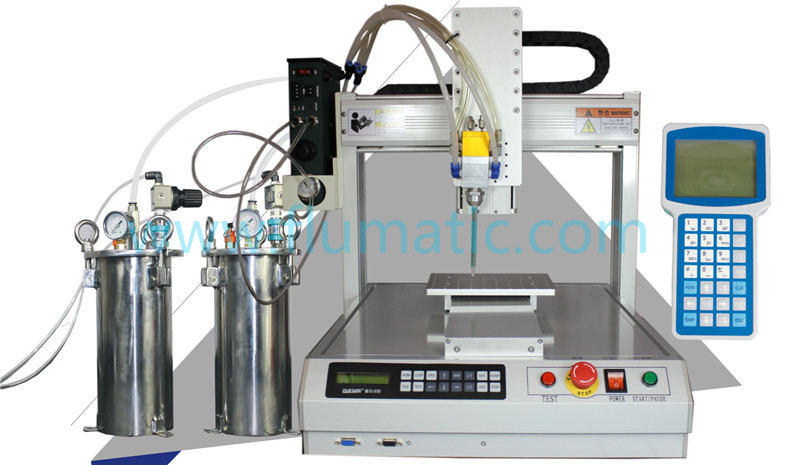 AB glue 3 Axis Automatic Benchotop Dispensing Robot