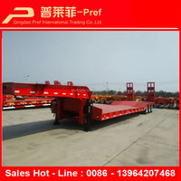 Low Bed Semi Trailer For Afica