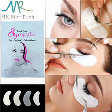 Lint free eyelashes extension under eye pads for eyelash extensions
